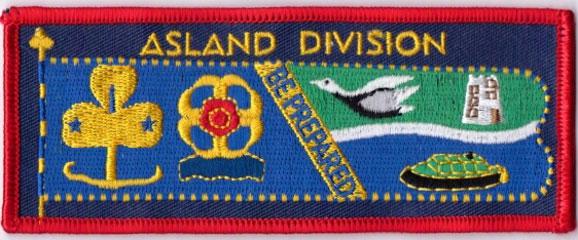 Asland division badge