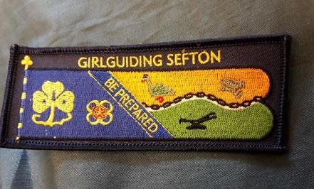 Girlguiding Sefton badge